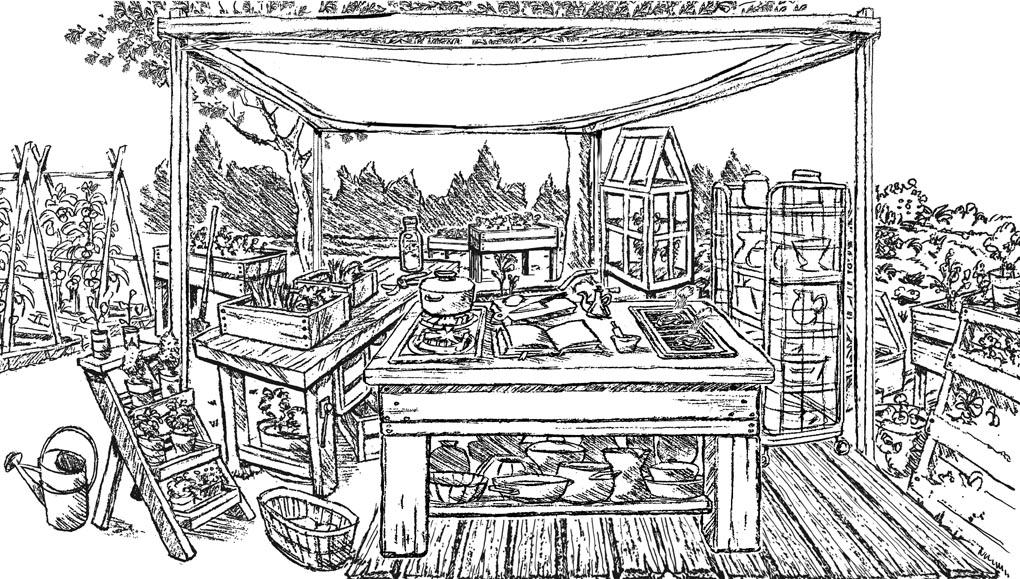 "Production Sketch McDonald's ""Wilde Küche"" - mit Chefkoch Carsten Höppner"