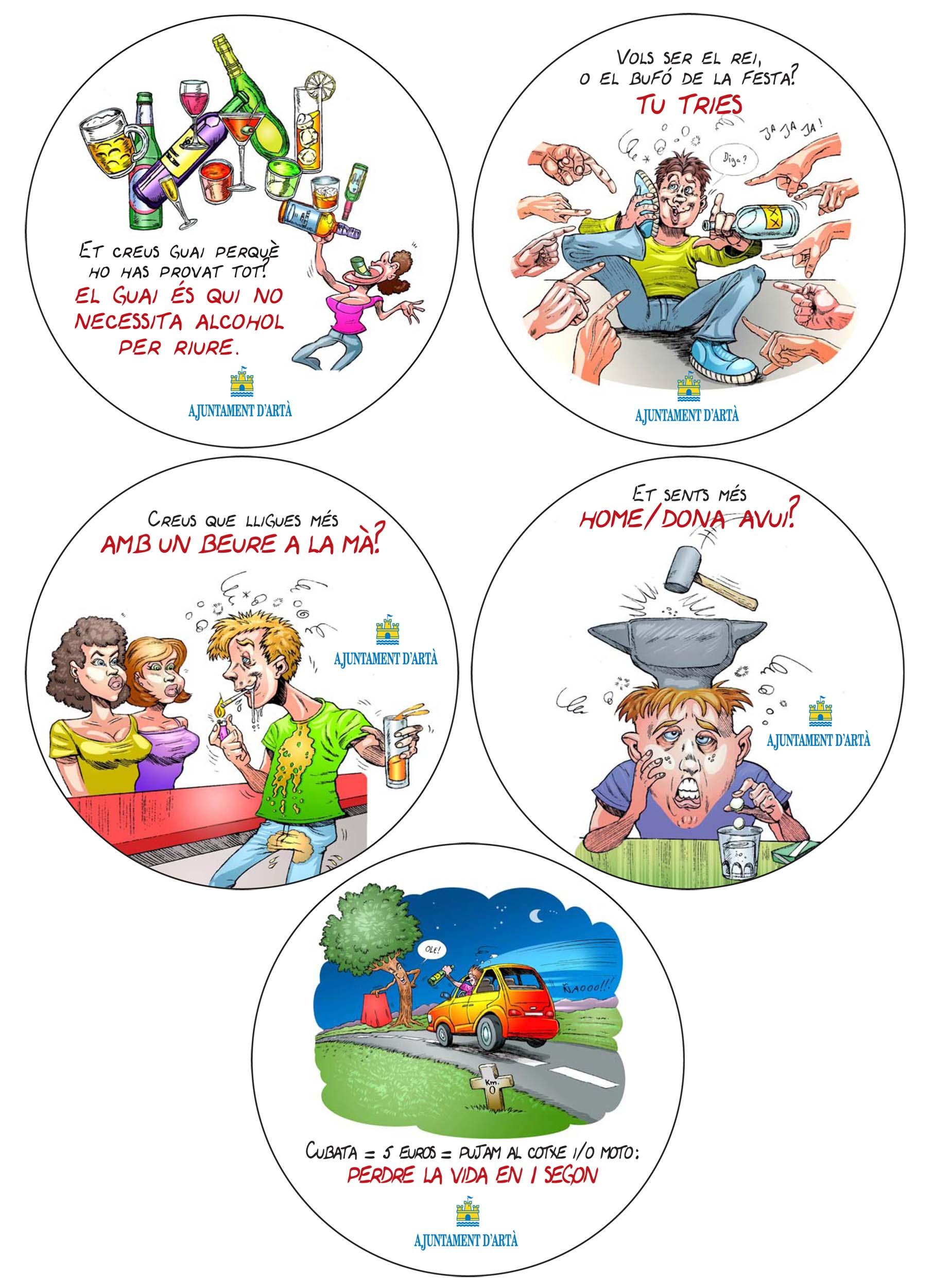 Anti Juvenile Alcohol Abuse Campaign- Ajuntament Arta
