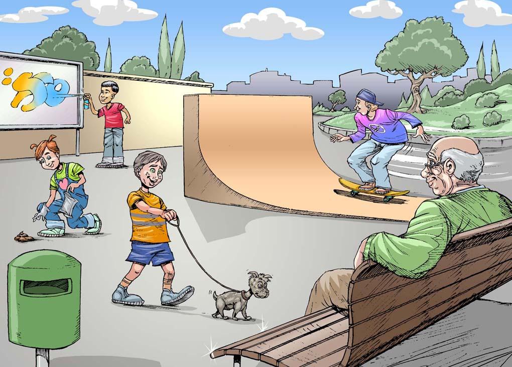 Ilustracion campaña de reciclaje-Ajuntement de Arta