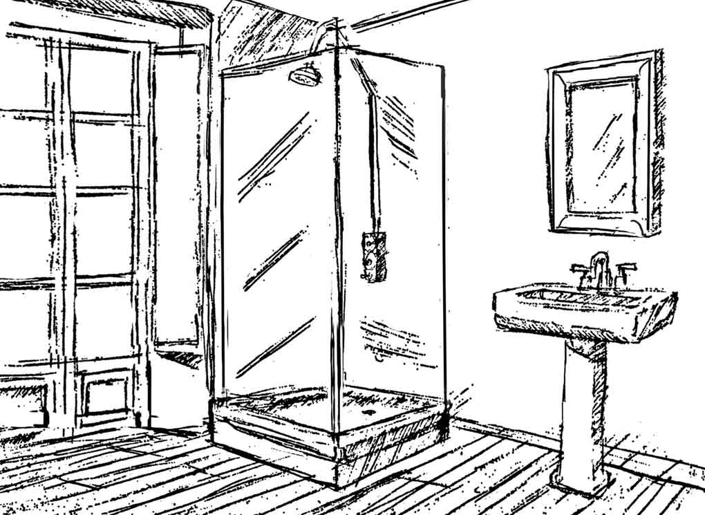 Production design sketch- Dobro