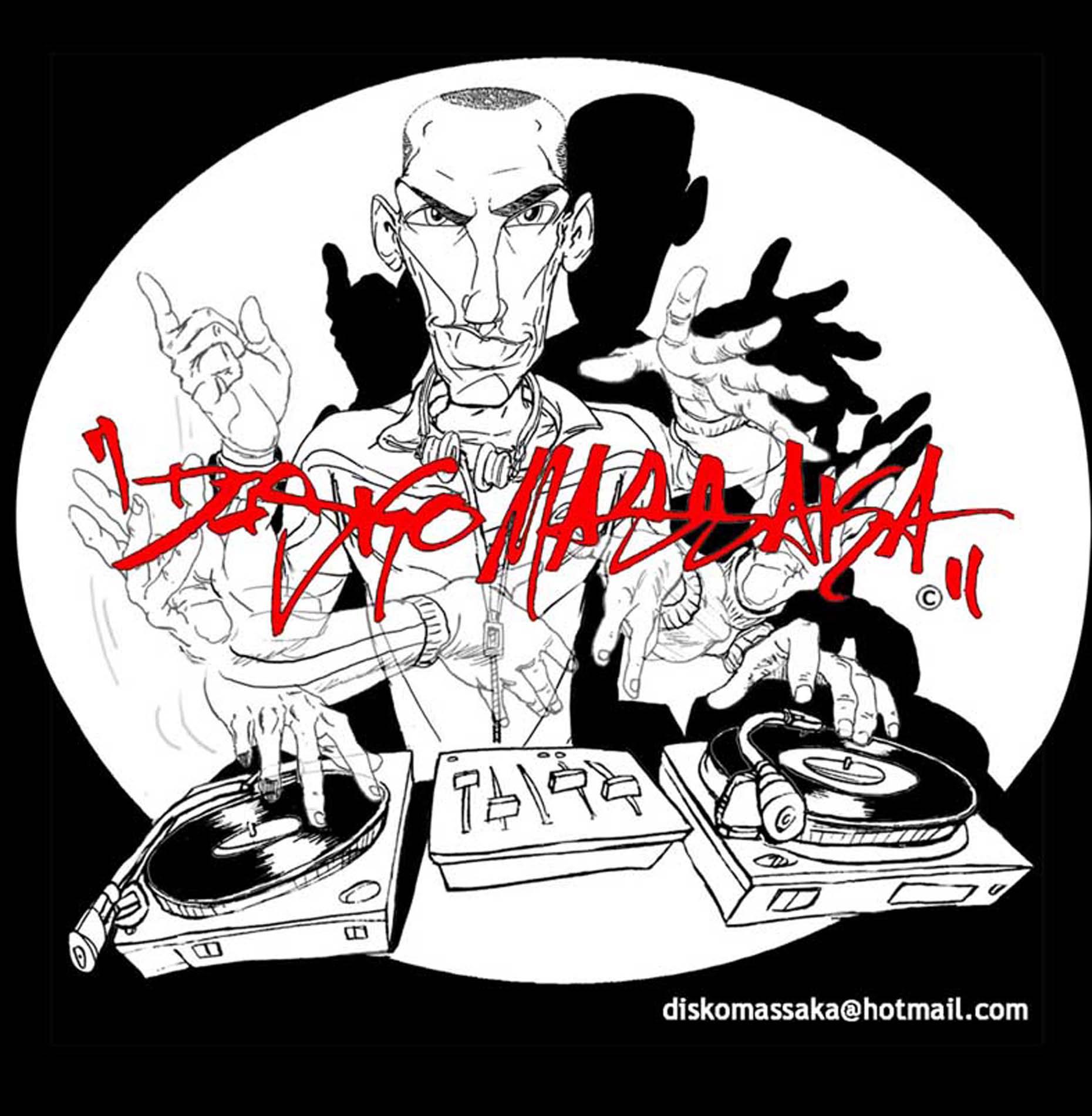 Discomassaka DJ Flyers