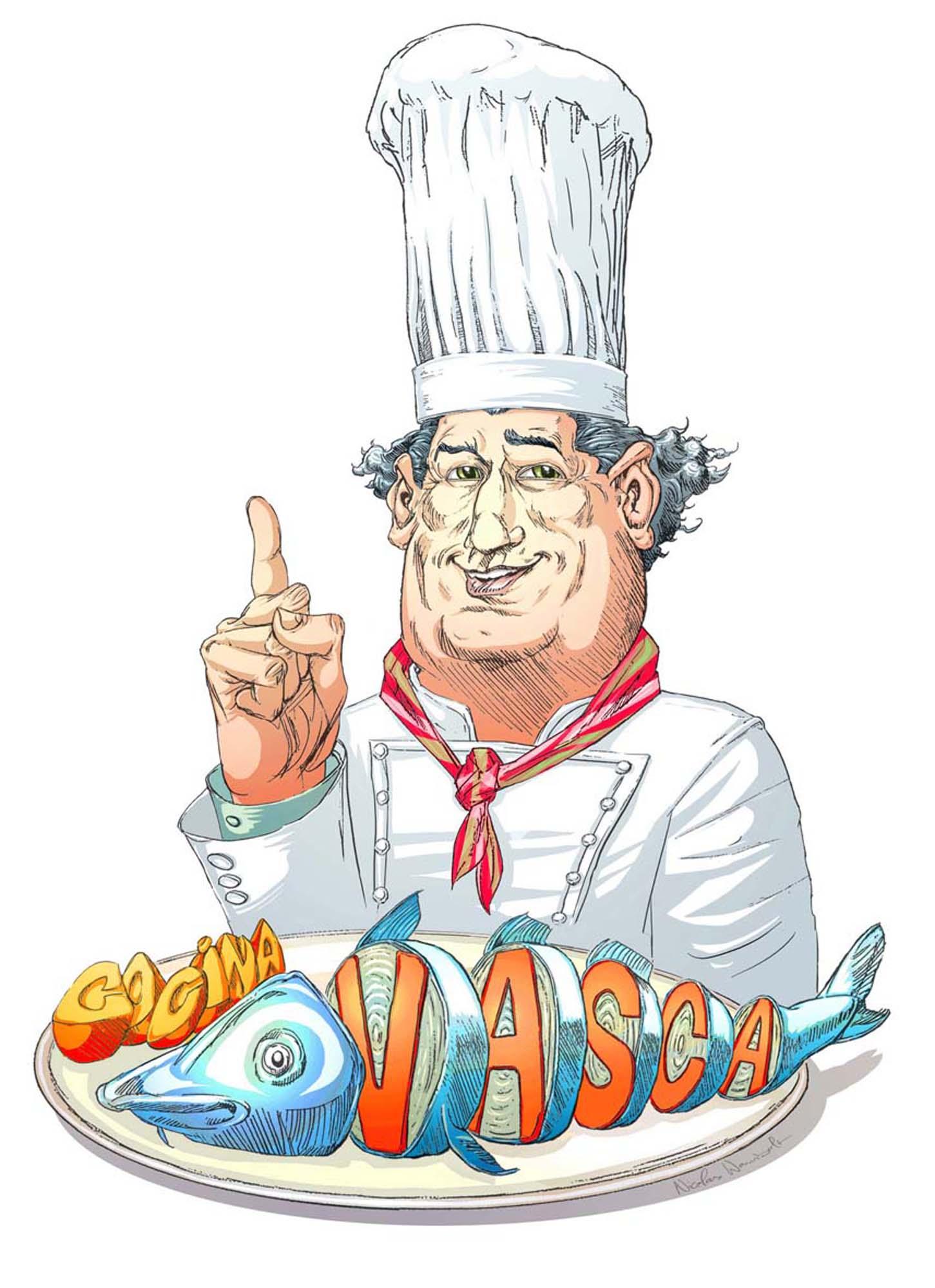 Cartel para Restaurante Vasco
