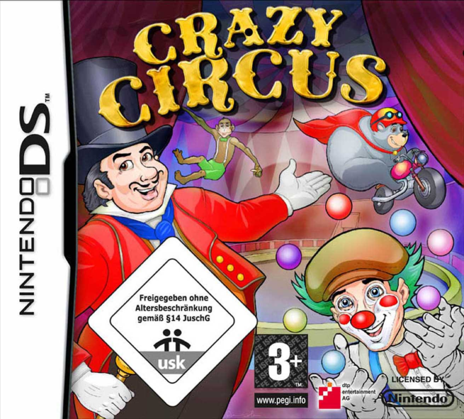 Nintendo Game Cover-Crazy Circus