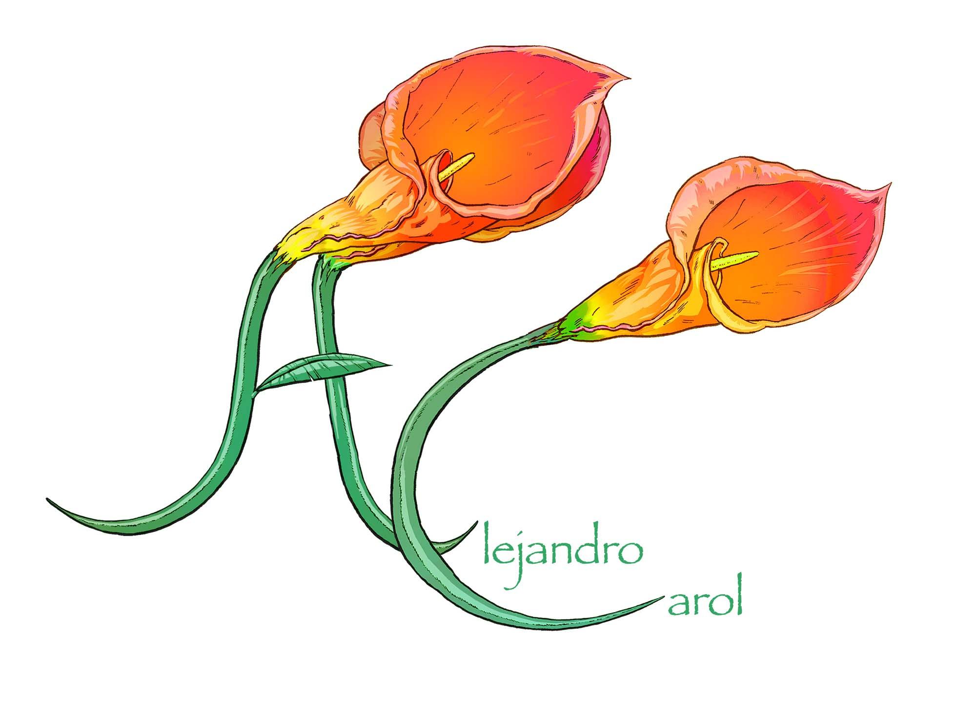 logo tienda de flores