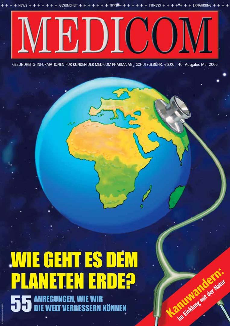 Medicom Magazine cover