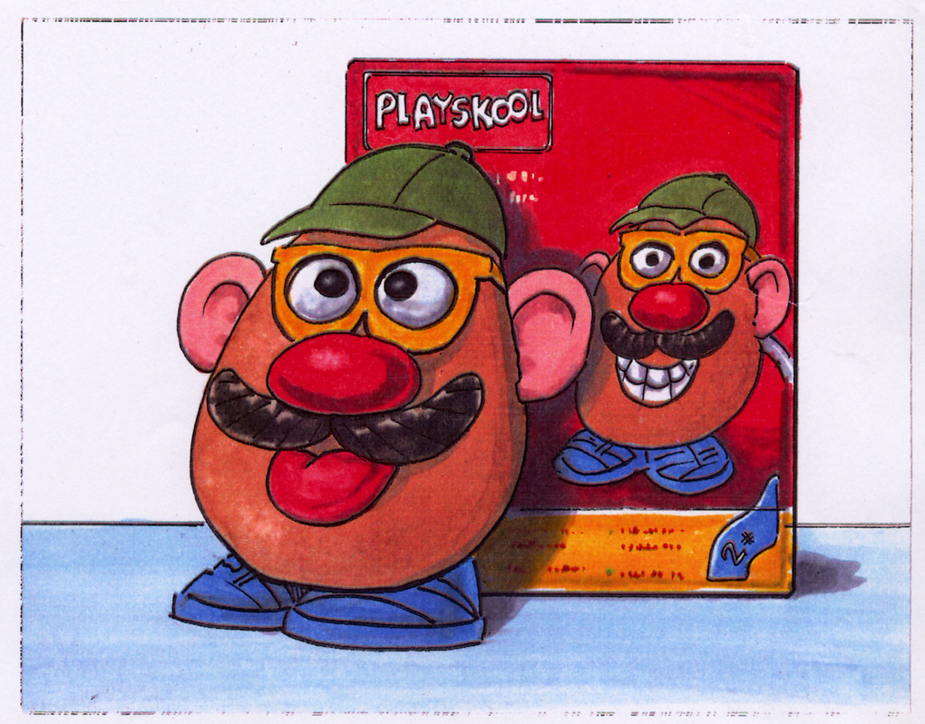 One of my first jobs ever in advertisement. Packshot for a Playskool commercial