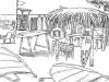 Production design sketch- Eurobank