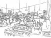 Production design sketch- Activia