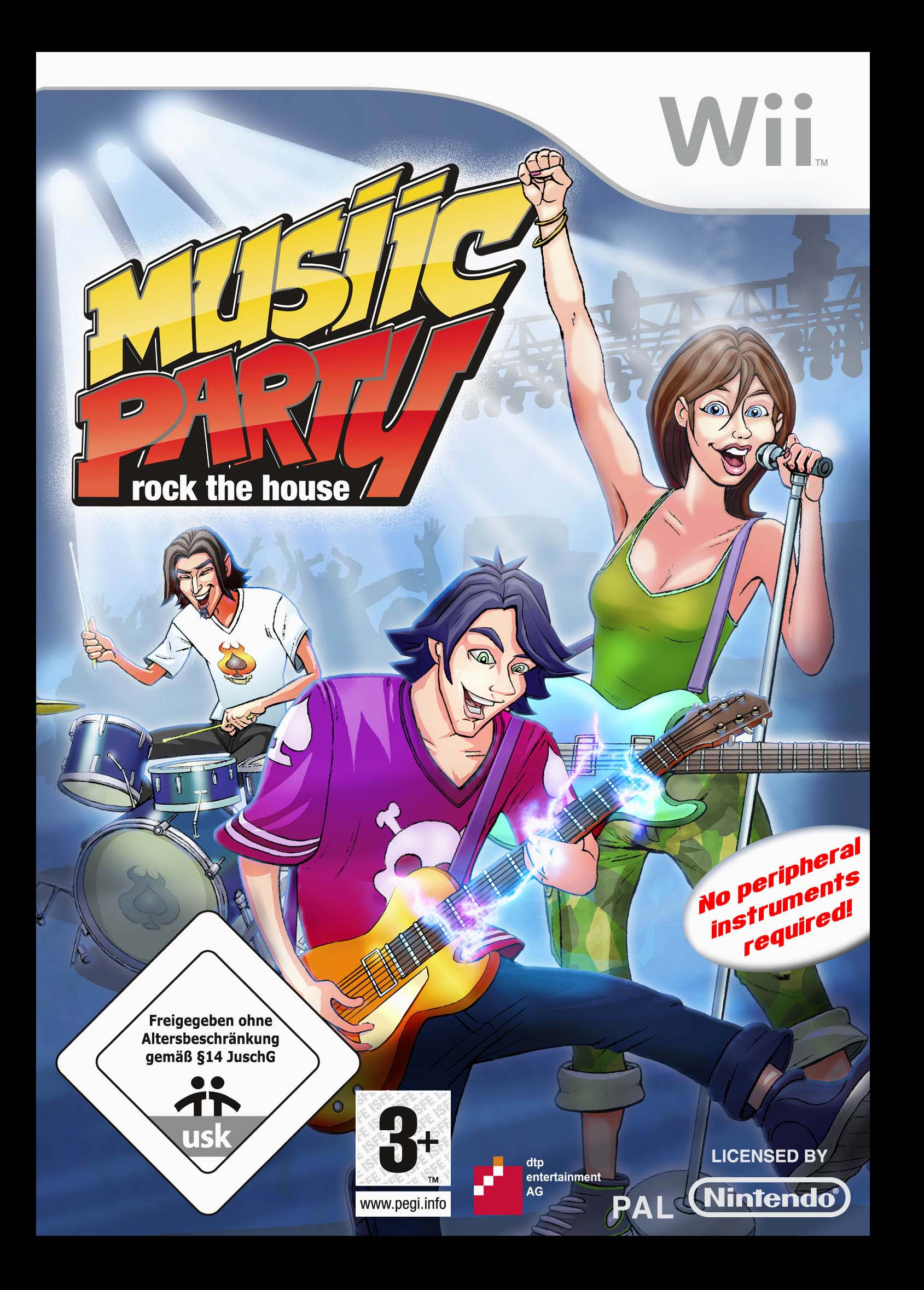 Musiik Party Nitendo game cover