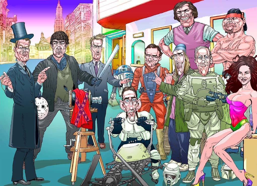 allstar-poster- Film Convention- Birnenblatt Productions