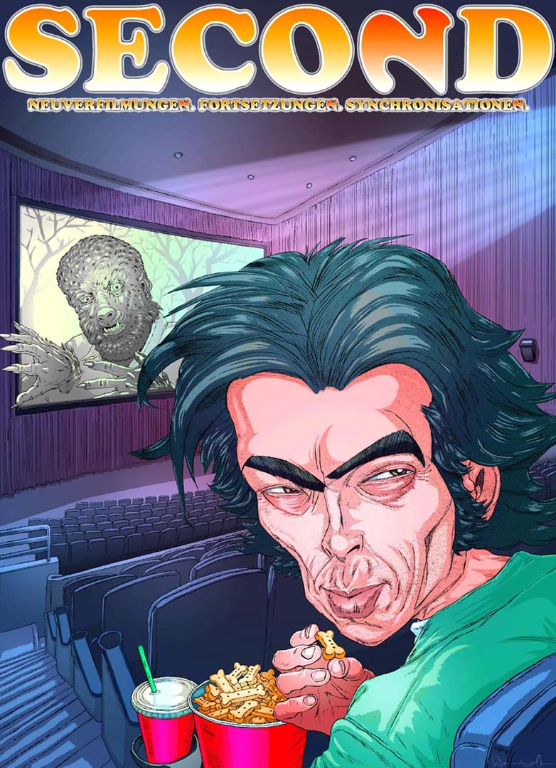 Benicio del Toro- Wolfman- cover Second