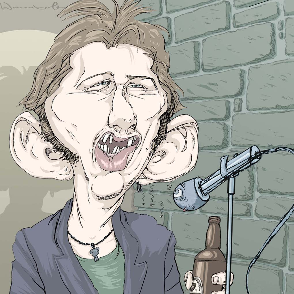 Shane Mc Gowan-The Pogues Rockdelux magazine