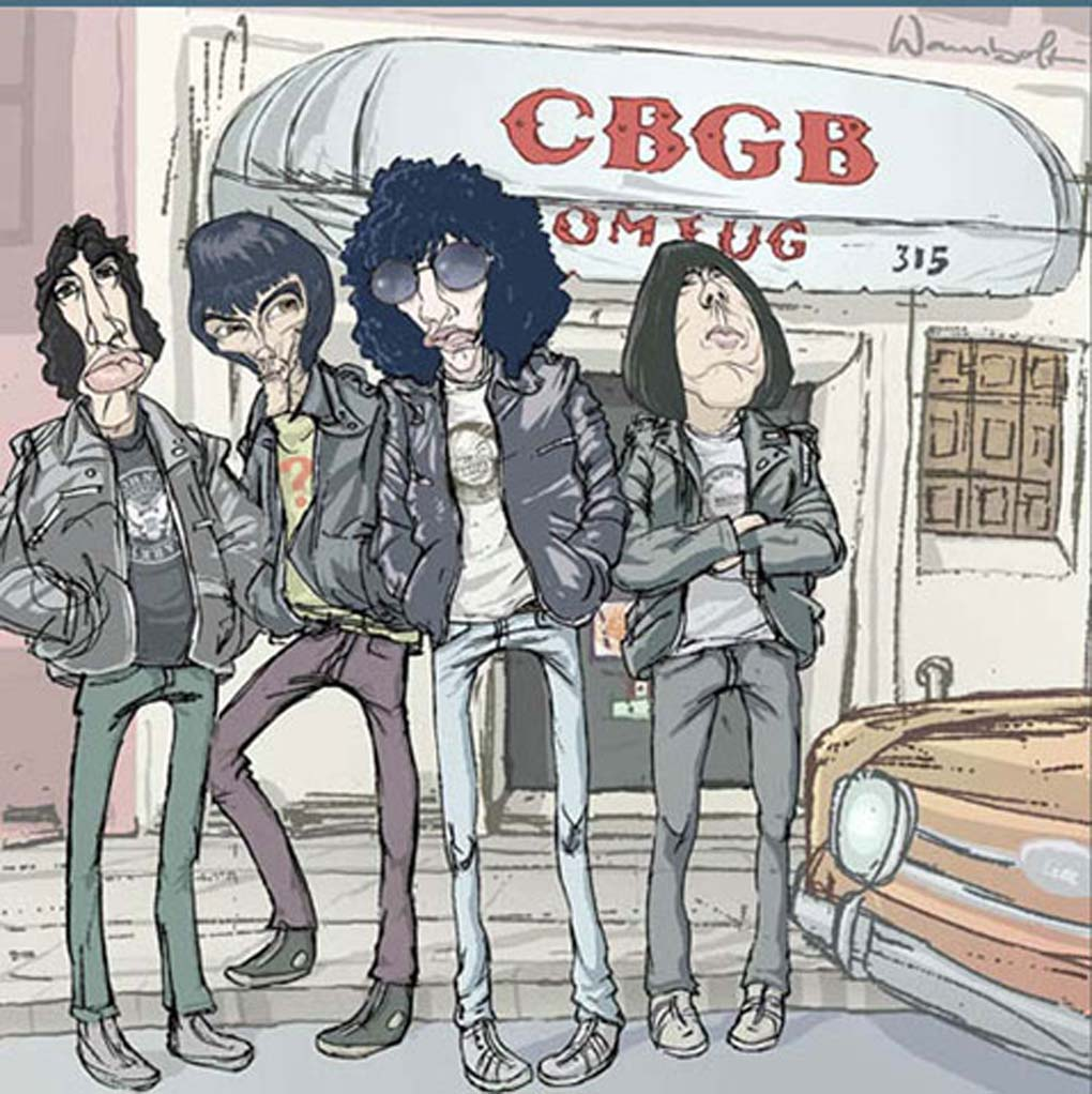 The Ramones- Rockdelux magazine