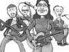 Caricatura Politicos mallorca-Revista Mondosonoro
