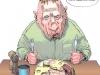 Cartoon - Nach einem spruch von Martin Krapp