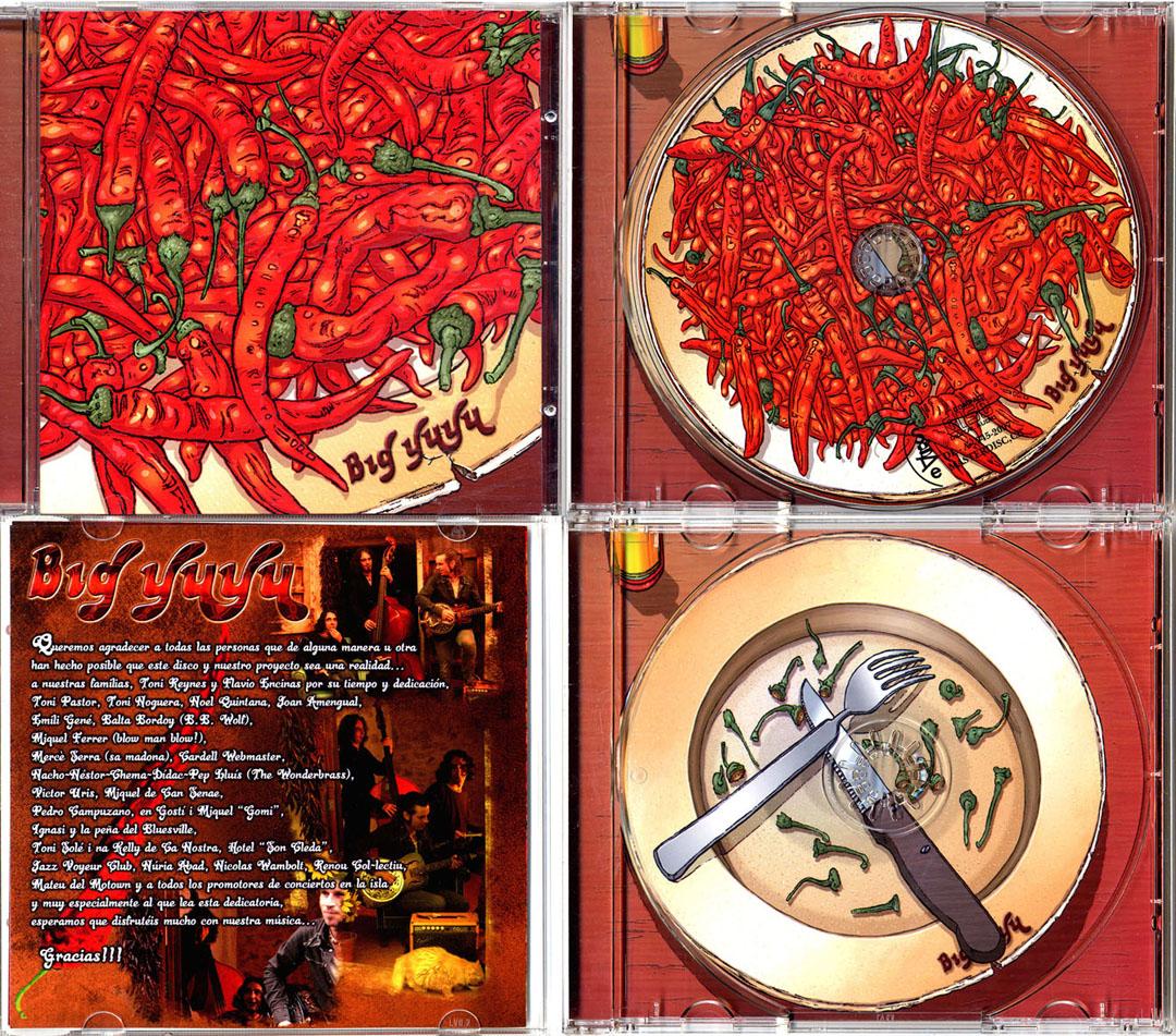 Big Yuyu CD cover