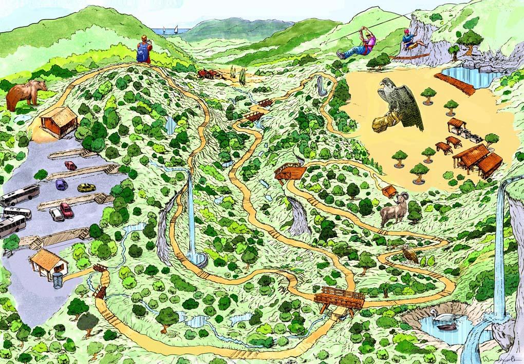 Mapa Reserva de Puigpunyent