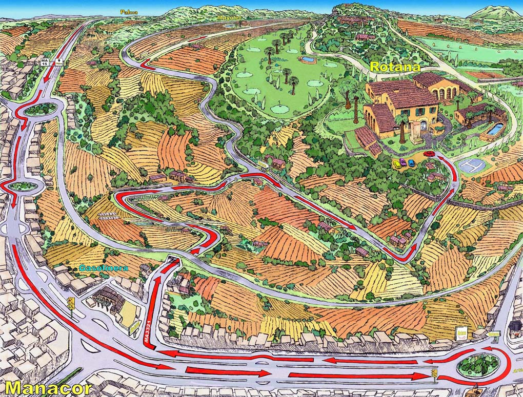 Illustraciones Como Llegar- Reserva Rotana