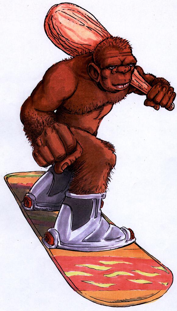 Mascot Snowboard Sportswear