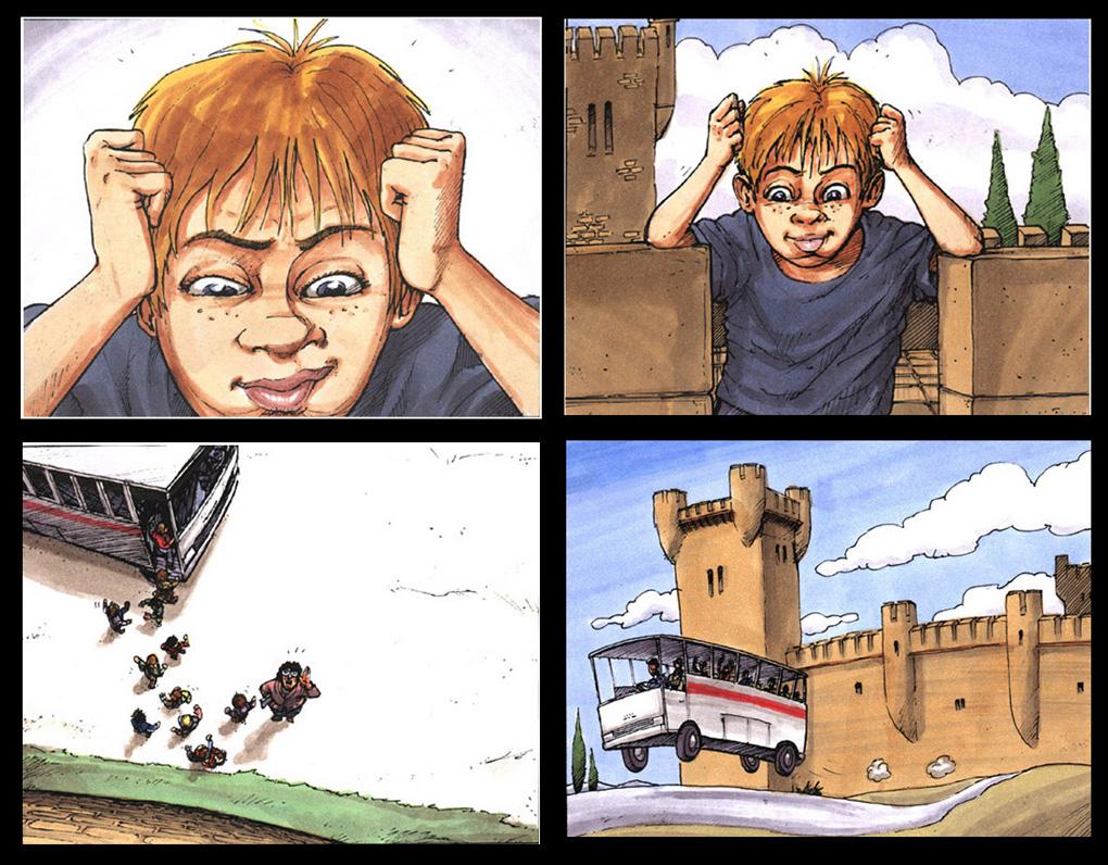Promocion Turismo Castilla la Mancha Storyboard