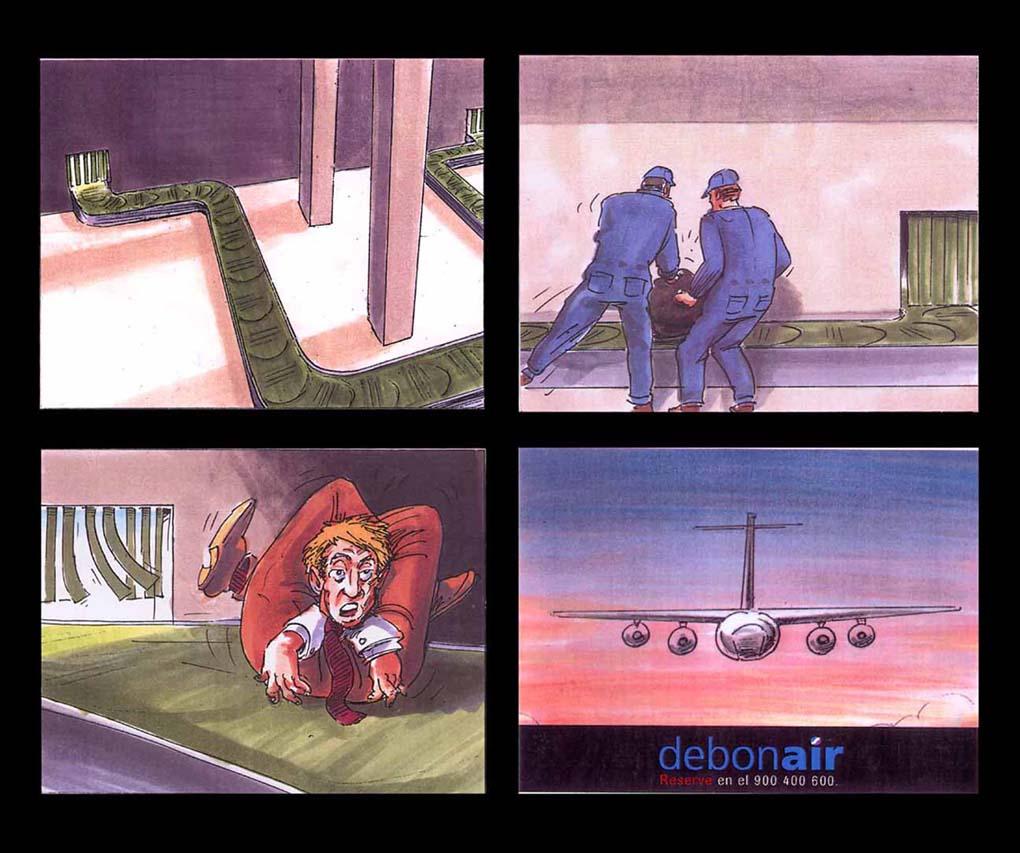 Debonair-Storyboard