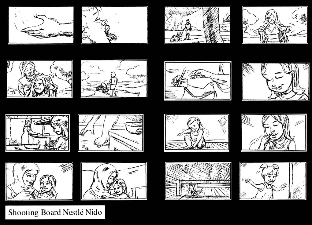 Shooting Board (super rough quick style)-Nestle Nido