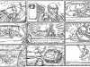 Shooting Board -Mad Dogs. Storyboard for an action sequence I did for the British TV Series